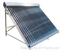 Non-pressure solar collector