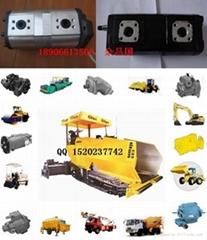 ABG423摊铺机双联齿轮泵