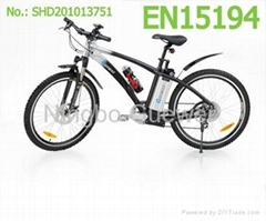 Cross 1 EN15194 electric mountain bicycles
