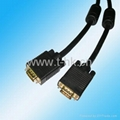 Long SVGA/VGA to VGA cable