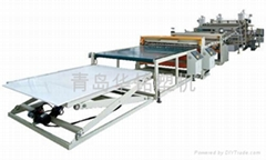 pvc plastic ceiling wall panel production line