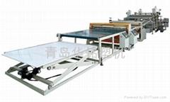 pvc plastic ceiling wall panel production line