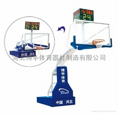 電動液壓籃球架