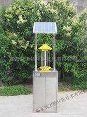 JBT-DJMC-005久保田牌智能防盜頻振式太陽能殺虫燈