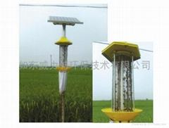 JBT-DJMC-007久保田牌智能防盜頻振式太陽能殺虫燈