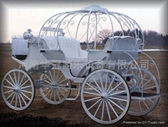 pumpkin horse carriage