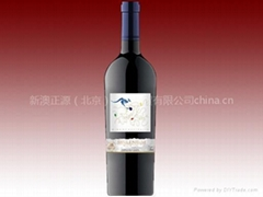 澳洲進口蘭馬克舍拉子干紅葡萄酒