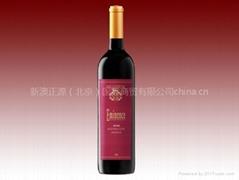 澳洲進口沙德拉赤霞珠干紅葡萄酒