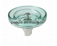 Fog Anti Type Suspension Glass Insulators