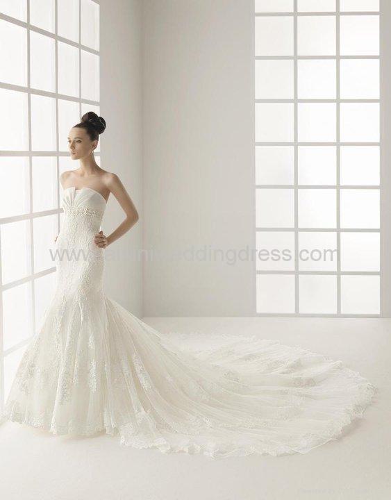 2011 wholesale lace mermaid wedding dress ez rs1006 for Wholesale wedding dress suppliers
