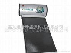 供应一体式平板太阳能热水器