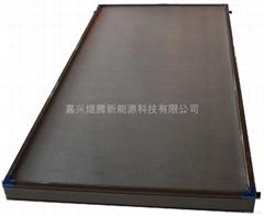 大量供应OEM镀黒铬平板太阳能集热器
