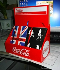 Customized Cardboard Display, Pop Stand, Cardboard Boxe