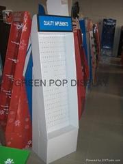Cardboard Floor Display