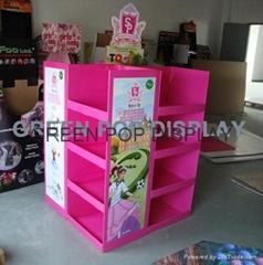 Cardboard Pallet Display
