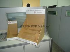 Cardboard Counter Top Display