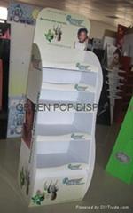 POP Cardboard Display with 5 trays