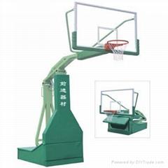 仿液壓籃球架首選前進體育400-602-6456