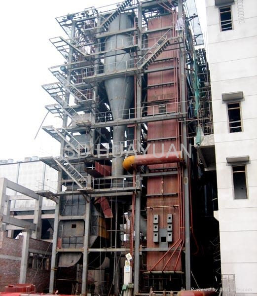 Circulating fluidized bed boiler 2011