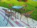 玻璃桌椅 2