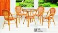 編藤桌椅 1