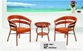 編藤桌椅 4