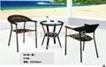 藤編桌椅 4