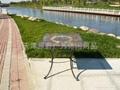 板岩桌椅 3