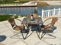 板岩桌椅 4