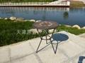 板岩桌椅 5