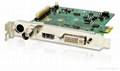 Real time motion record video capture card with CE,FCC,software developped indep 1