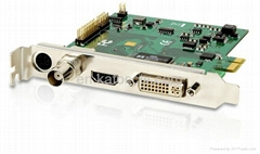 Real time motion record video capture card with CE,FCC,software developped indep