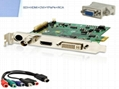 Real time motion record video capture card with CE,FCC,software developped indep 4