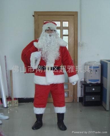 卡通人偶服裝聖誕老人 1
