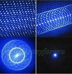 405nm 200mW Viole Blue Ray Blue Laser Poin 5 in 1 Blue violet Laser Pointer