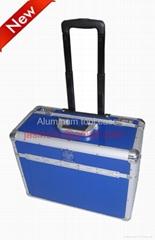 Aluminum trolley Case