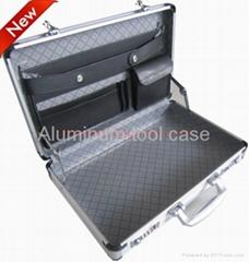 Aluminum computer case brief case briefcase