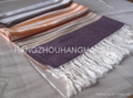 New Designed striated Style Scarf