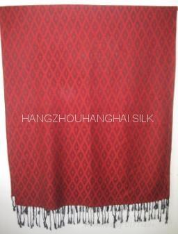2011新款提花圍巾 2