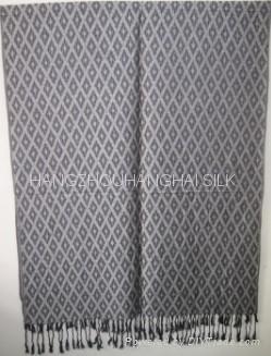 2011新款提花圍巾 3