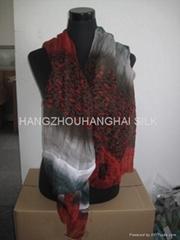女士精品圍巾