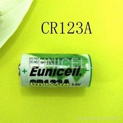 3V CR123A Lithium Camera Battery