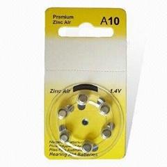 Pr70 A10 1.4V zinc air battery