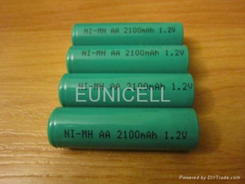 1.2V Ni-MH NiMH AA Rechargable battery 2100mAh 1