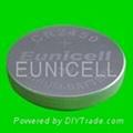 厂家供应CR2450 3V 锂锰扣式电池 2