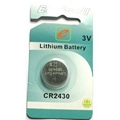 cr2430 3V lithium button cell