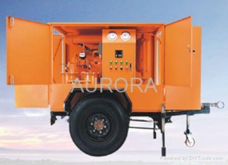 High Vacuum Transformer Oil Purifier series HVP 2