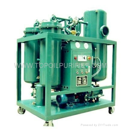 oil purifier machine for seriously emulsified turbine oil series TY 1
