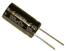 Radial Aluminum Electrolytic Capacitor 1