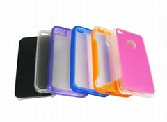 PC+TPU case for Iphone4G